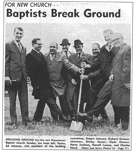 Baptist Break Ground